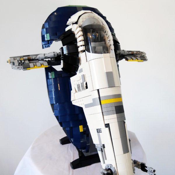 Instructions Only Lego Custom Ucs Jango Fetts Slave 1 Brick