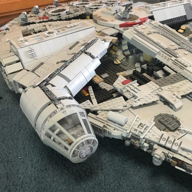 Finally! Shes got a cockpit Legos design here was prettyhellip