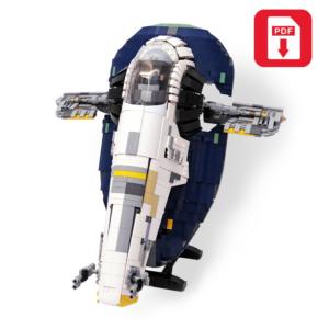 INSTRUCTIONS ONLY! Lego Star Wars Custom Ultimate Millennium